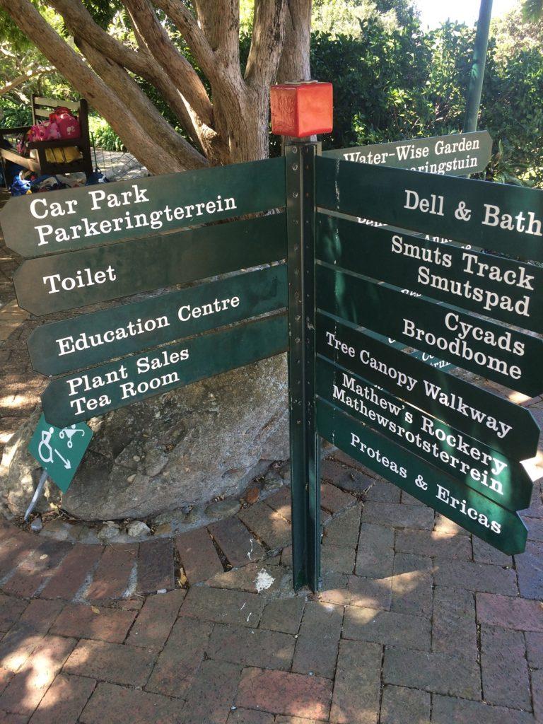 Jardim Botânico da Cidade do Cabo - Tree Canopy Walkway.