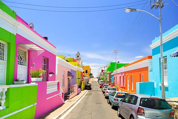 melhores atrações gratuitas de Cape Town - BooKaap