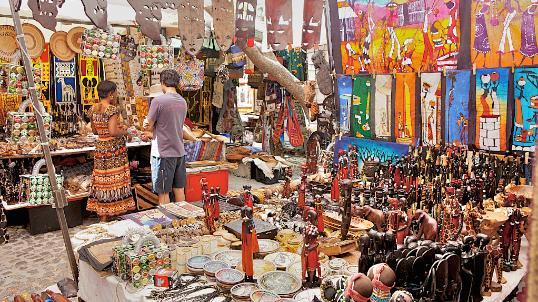 melhores atrações gratuitas de Cape Town - GreenMarket