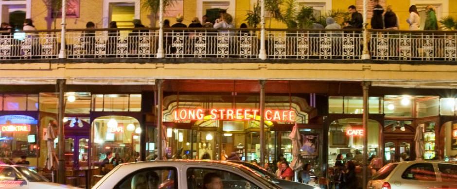 melhores atrações gratuitas de Cape Town - Long Street